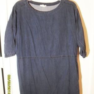 WOMEN'S SIZE SMALL EILEEN FISHER CHAMBRAY JEAN